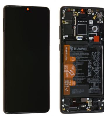 Ecran complet (châssis + batterie) d'origine Huawei P30