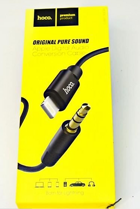 HOCO UPA13 SOUND SOURCE Câble Audio Lightning (1m)