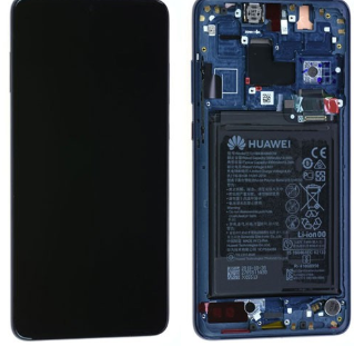 Ecran complet (châssis + batterie) Huawei Mate 20 Lite d'origine Huawei