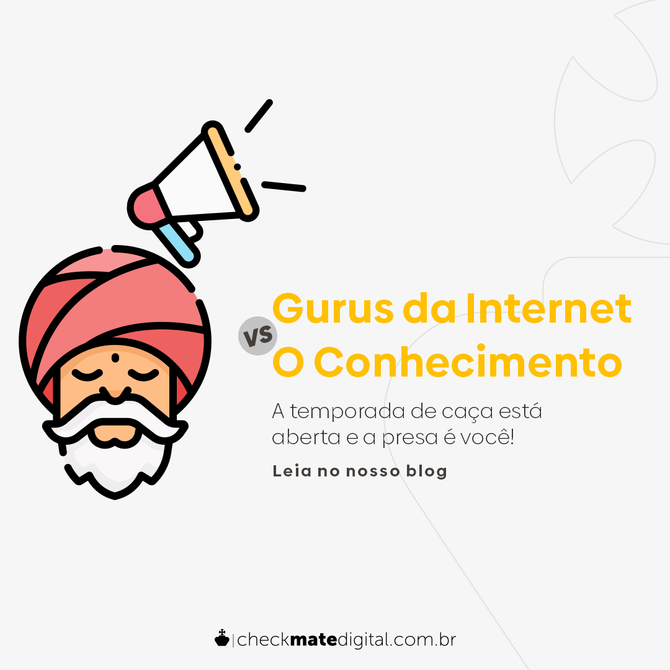 Gurus da Internet Vs O Conhecimento