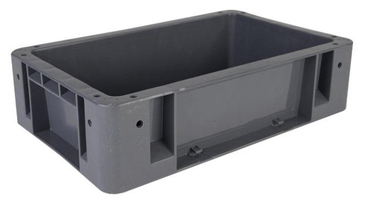 Caja industrial no. 1