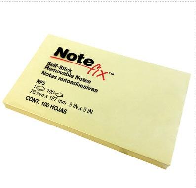 LM-Notas NoteFix Block 7.3x12.3 amar.100