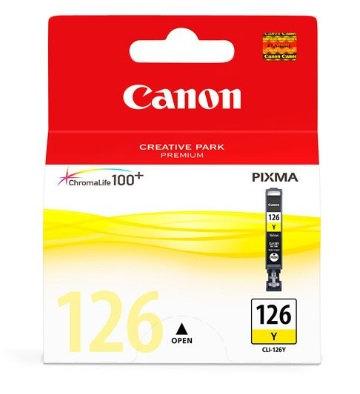 Tanque de tinta Canon Amarillo CLI-126 Y