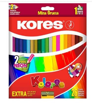 Lapices de colores triangulares