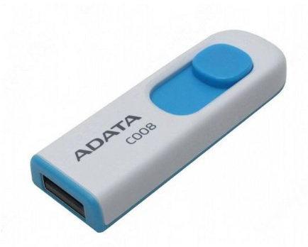 LM-MEMORIA USB ADATA C008 32GB 2.0 BLANC