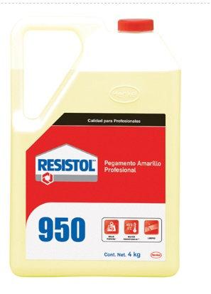 RESISTOL 950 AMARILLO DE 4 KG