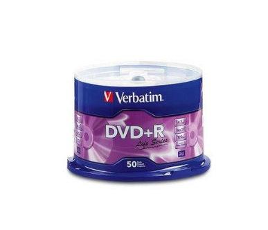 DVD+R LIFE SERIES 16X campana de 50