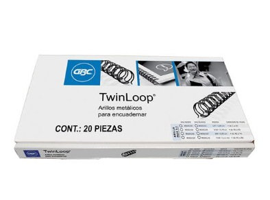 ARILLO METAL TWIN LOOP NG C/20 1/4