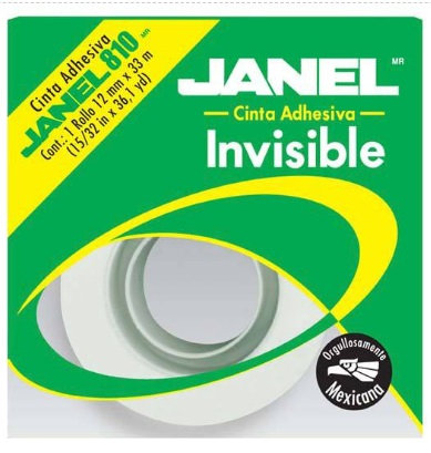 LM-Cinta invisible 810 12 mm X 65 m