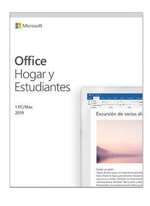 OFFICE HOGAR Y ESTUDIANTE 2019 WIN10/MAC