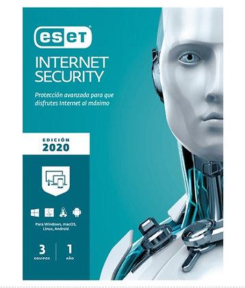 ESET INTERNET SECURITY 3 LIC V13 V202