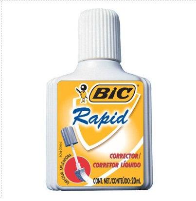 Corrector liquido rapid 20 ml.