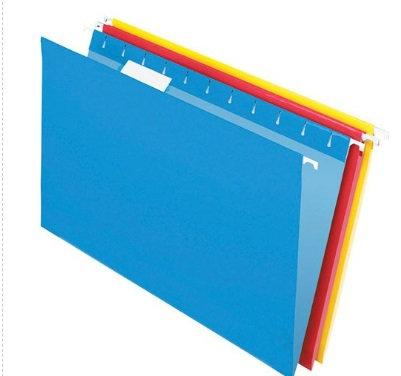 Folder colgante varios col. oficio c/25
