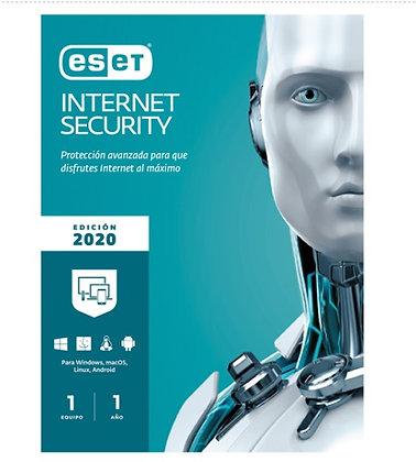 ESET INTERNET SECURITY 1 LIC V13 V2020