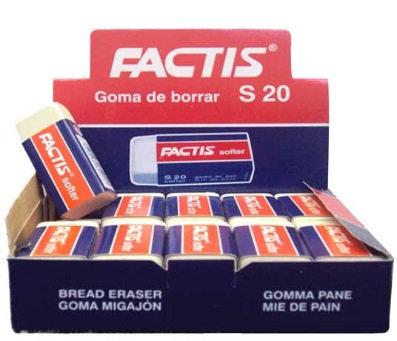 Goma Factis caja c/ 20 pzas