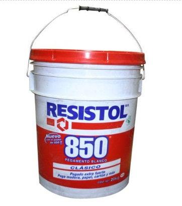 Resistol 850 blanco de 20 Kg
