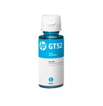 Botella de tinta cian HP GT52
