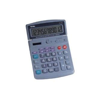 Calculadora 12 digitos de escritorio