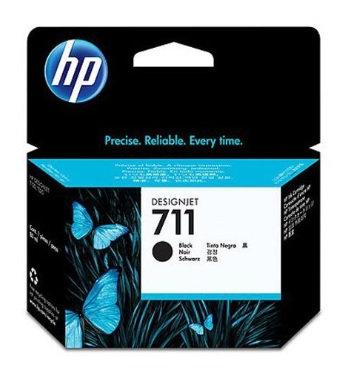 Cartucho de tinta HP 711 de 80 ml negro