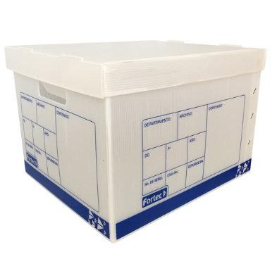 Caja de Archivo Plástica Carta/Oficio