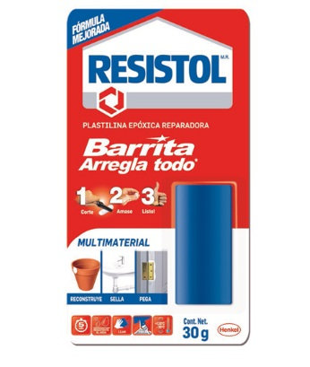 BARRA ARREGLA TODO RESISTOL DE 30 GRS