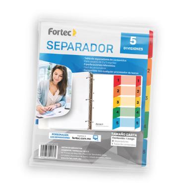 LM-SEPARADOR 5 DIVISIONES