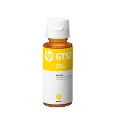 Botella de tinta amarilla HP GT52