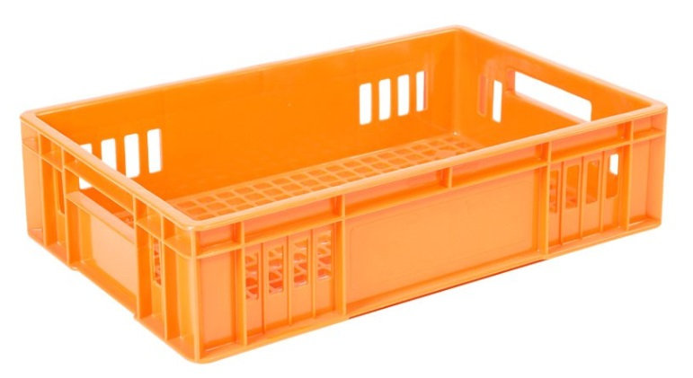 Caja rectangular calado grande