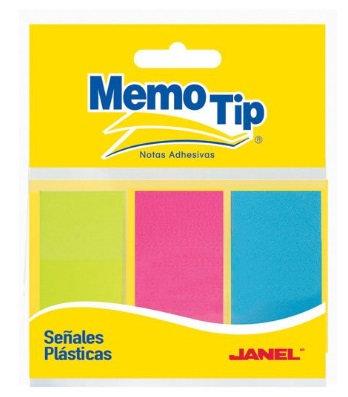 Señales o banderitas de plástico colo
