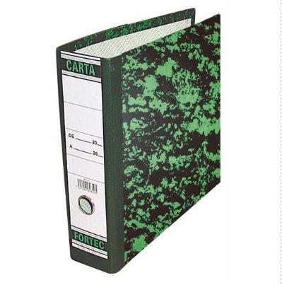 Registrador carta verde marmoleado