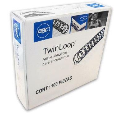 ARILLO METAL TWIN LOOP NG C/100 9/16