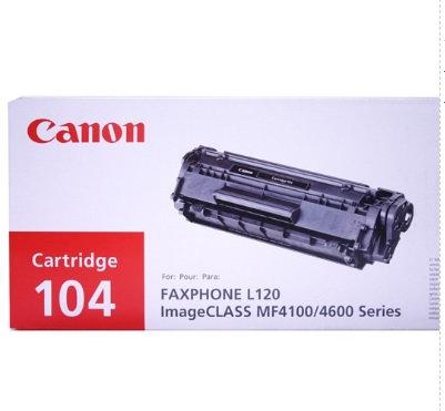 Cartucho para tóner Canon Negro 104