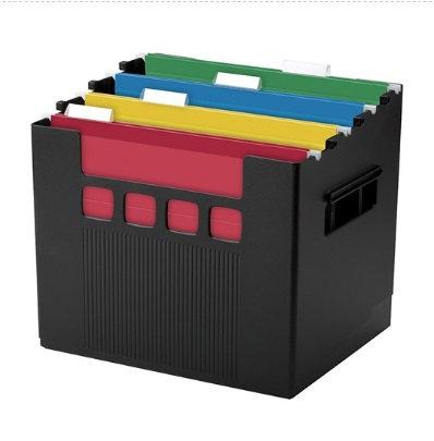 Archivo para escritorio negro