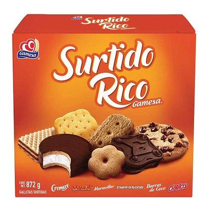 GALLETAS SURTIDO RICO 872GRS