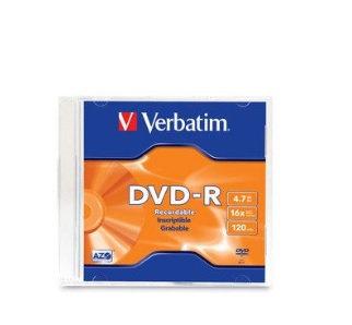 Disco DVD-R 4.7Gb 8X-16X individual