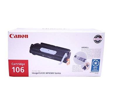 Cartucho para tóner Canon Negro 106