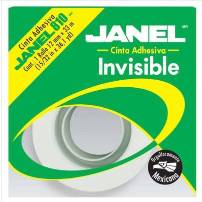 LM-Cinta invisible 810 12 mm X 33 m