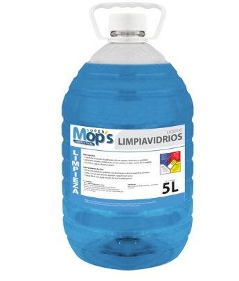 LIMPIADOR DE VIDRIOS, SUPER MOPS DE 5L