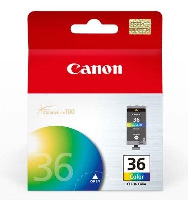 Cartucho de tinta Canon Color CLI-36 CLR
