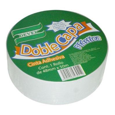 LM-Cinta DOBLE CAPA Blanca 48 mm x 50 mt
