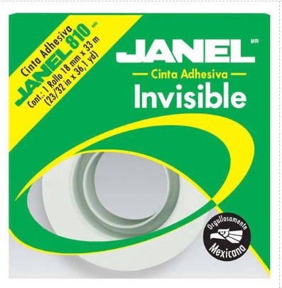 Cinta invisible 810 18 mm X 33m