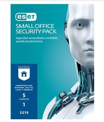 ESET SMALL OFFICE SEC 5 LIC V2019