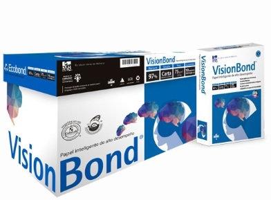 PAPEL VISION BOND CARTA BLANCURA 97%