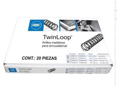 ARILLO METAL TWIN LOOP NG C/20 3/4