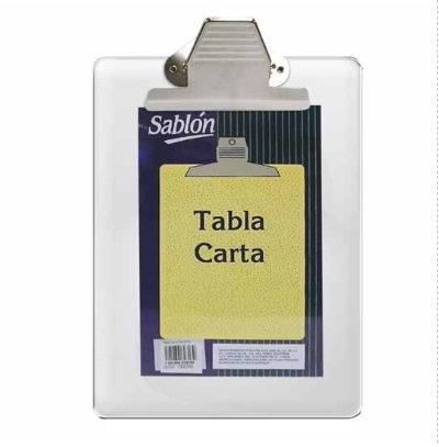 TABLA CON CLIP METALICO TAMAÑO CARTA CR
