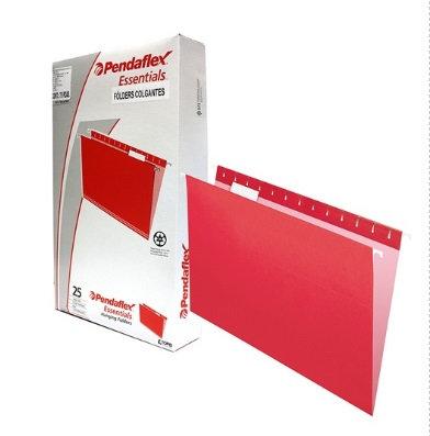 Folder colgante Oficio, Color Rojo co