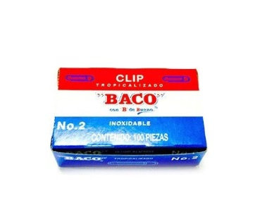 CLIP BACO TROPICALIZADO NO.2