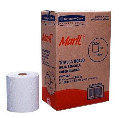 TOALLA EN ROLLO BLANCA DE 180 M