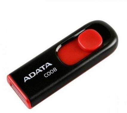 Memoria USB 2.0 Adata 8GB C008 negra