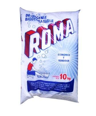 DETERGENTE EN POLVO ROMA. BOLSA DE 10KG.